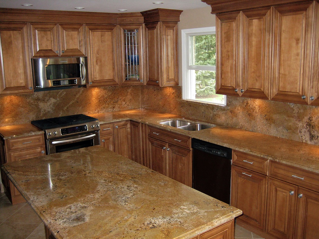 Kitchen granite countertops photo gallery granite design of midwest - Granite kitchen design ...