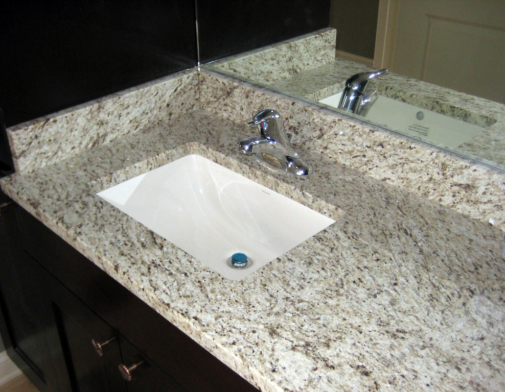 How to care for granite countertops bathroom